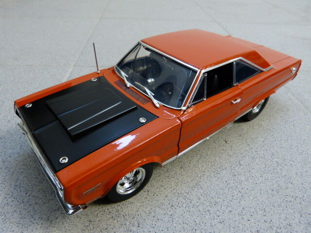 Plymouth Hemi bullet custom GTX 1967 orange limitée ACME Voiture Miniature 1:18 | Coût Modéré