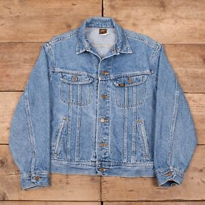 "Lee Riders Jacket Vintage 42 Denim Vintage Large Large Trucker 1990s Stonewash Riders 1990 R10301 Stonewash Jacket Mens Lee Denim Mens Trucker 42"" B7q0fB"