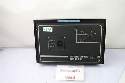 GRUNDFOS Deltatronic  DP222 Konstantdruckregler und Drehzahlsteuerung