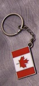 Pewter-Key-Ring-National-Flag-of-Canada-NEW
