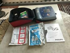 Philips M3861a Heartstart Defibrillator With Pads And Battery No Memory Card