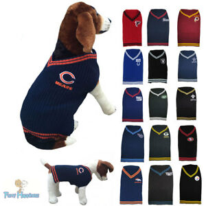 sale retailer 43a86 d84e3 Details about NFL Fan Game Gear Cold Weather Dog Sweater Coat for Dogs -  PICK YOUR TEAM