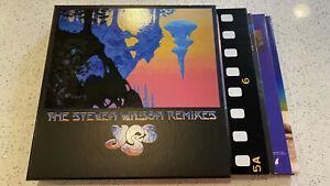 Yes The Steven Wilson Remixes 6LP box set! Relayer Fragile Tales Yes Album Close