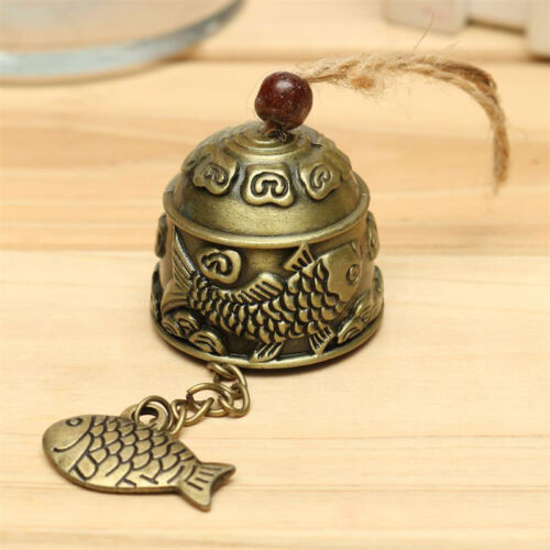Metal Fengshui Bell Temple Garden Handmade Copper Fish Hanging Alloy-Wind