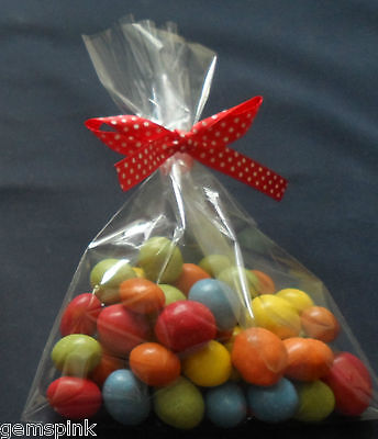 "x500 Cellophane Cello Poly Display Bags Lollipops Cake Pop 2 /""X 10 /"""