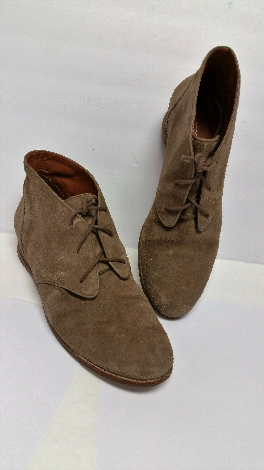 Rebecca Minkoff 'Palmer' Brown Cow Suede Booties Size 9  Brand NICE