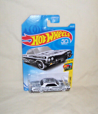 #326//365 HW ART CARS 5//10 1964 2018 HOT WHEELS /'64 Chevy Impala Lowrider Col