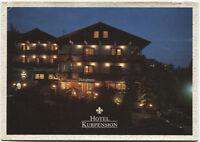 Alte Postkarte - Bad König - Hotel Kurpension Schlößmann