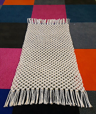 Cotton Bathmat Knotted Rug Wallhanging