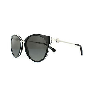 f486669c32 Michael Kors Sunglasses Abela III 6040 3129 11 Black White Grey ...