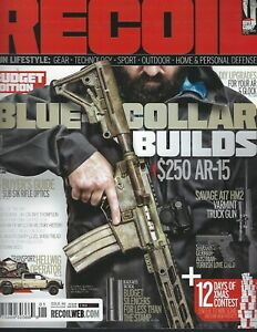 RECOIL Magazine  #46  2019 BLUE-COLLAR BUILDS
