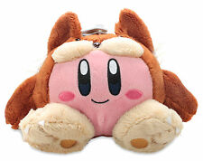 "Official Animal Kirby 6"" Plush Stuffed Doll - Nintendo Super Mario Little Buddy"