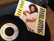"NATALIE COLE . EVERLASTING / WHEN I FALL IN LOVE   . 1987 . 7"" vinyl single"