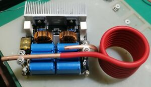 1000w Zvs Low Voltage Induction Heating Board Module