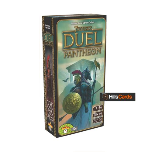 Family Building Board Pantheon Expansion for the 7 Wonders Duel Card Game