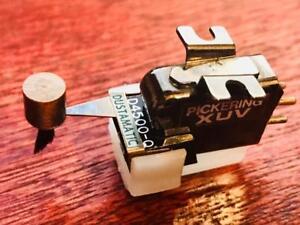 Genuine-Pickering-UV-15-4500-Q-Quad-Cartridge-w-shibata-d4500-q-Needle-Stylus