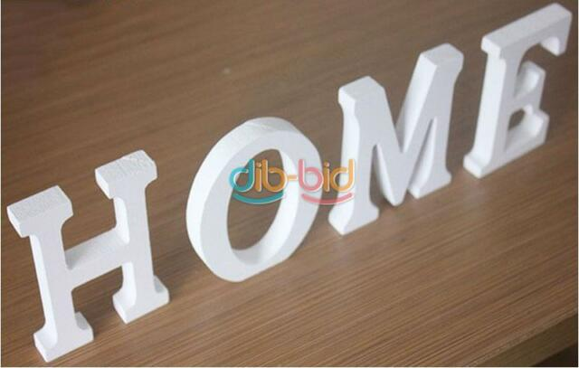 Wooden Letters Bridal Wedding Party Birthday Wood Letter Names Decorations