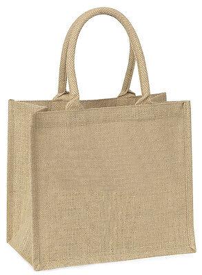 Welpe Personalisiert+ 'Jede Formulierung' Große Natürliche Jute-einkaufstasche,