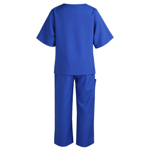 Enfants Garçon Fille Déguisement Costume chirurgien médecin Cosplay Party Outfit Vêtements
