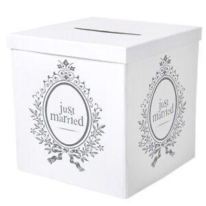 Briefbox Geschenkbox Fur Geldgeschenke Zur Hochzeit Just