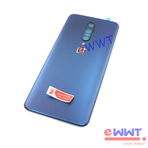 for OnePlus 7 Pro GM1911 GM1913 Replacement Blue Rear Battery Door Cover ZVHB628