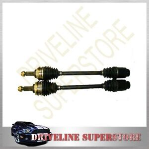 TWO-BRAND-NEW-FRONT-CV-JOINT-DRIVE-SHAFTS-for-SUBARU-OUTBACK-2000-05-2003