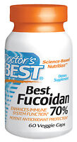 Best Fucoidan 70% Enhances Immune System - 60 Caps