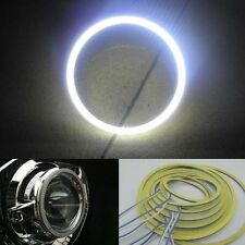 2x 9-30V White 80mm 60leds COB Angel Eyes Halo Ring Light Super Bright W93