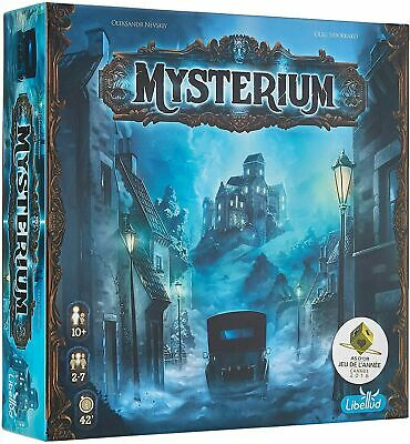NEW Factory Sealed Libellud Mysterium Board Game Ages 10 /& Up 2 to 7 Players 3D1