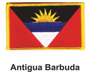 """NEW 2.5 x 3.5/"""" FREE SHIPPING 3 NICARAGUA FLAG EMBROIDERED PATCHES IRON-ON"""