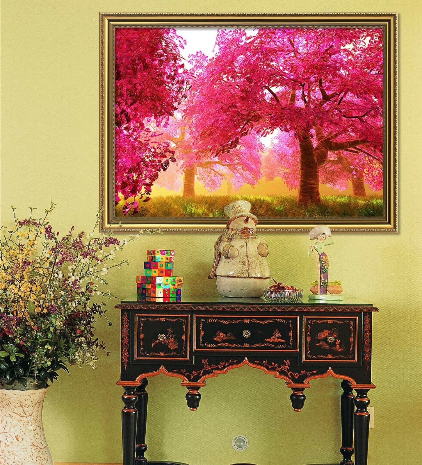3D rouge Forest Meadow 1 Framed Poster Home Decor Print Painting Art AJ WALLPAPER