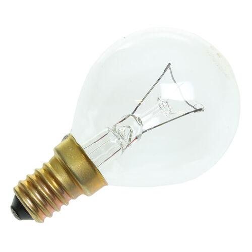40W Watt SES Oven Lamp E14 300° Degree 230v Light Bulb For Bosch Cookers