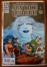 JUSTICE LEAGUE AMERICA #91 FAREWELL TO A FRIEND THE FUNERAL OF ICE! (DC Comics)