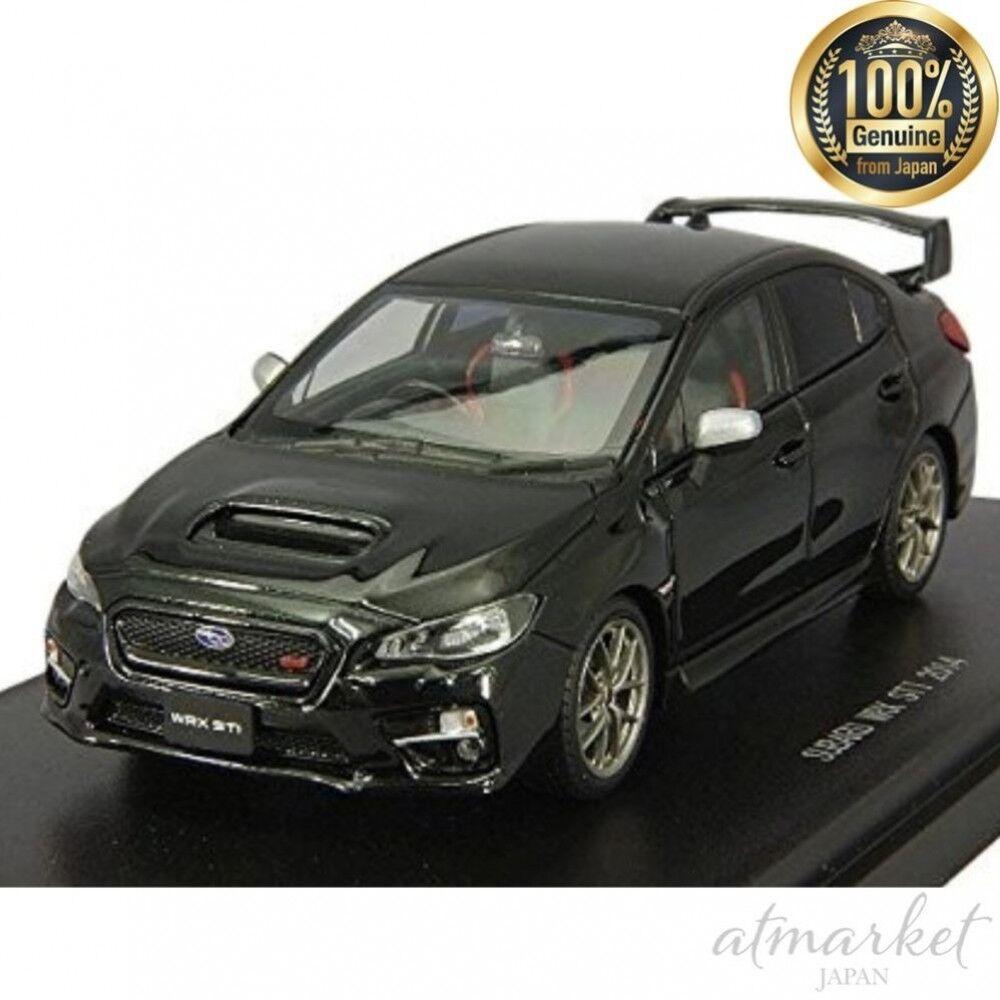 Mmp Mini Auto 45312 Ebro 1/43 Subaru Wrx Sti 2014 Nero Finito Prodotto Giappone