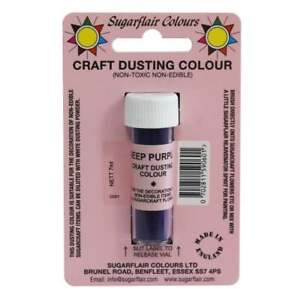 Baking Accs. & Cake Decorating Sugarflair Deep Purple Home & Garden Non Toxic Craft Dusting Colour 7ml