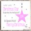 Personalised Christmas Card Girls Daughter Granddaughter Goddaughter Sister 1st