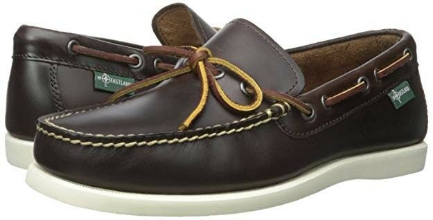 NEW w BOX  Men's 10D Eastland Yarmouth 1955 Slip-on Loafer in Brown