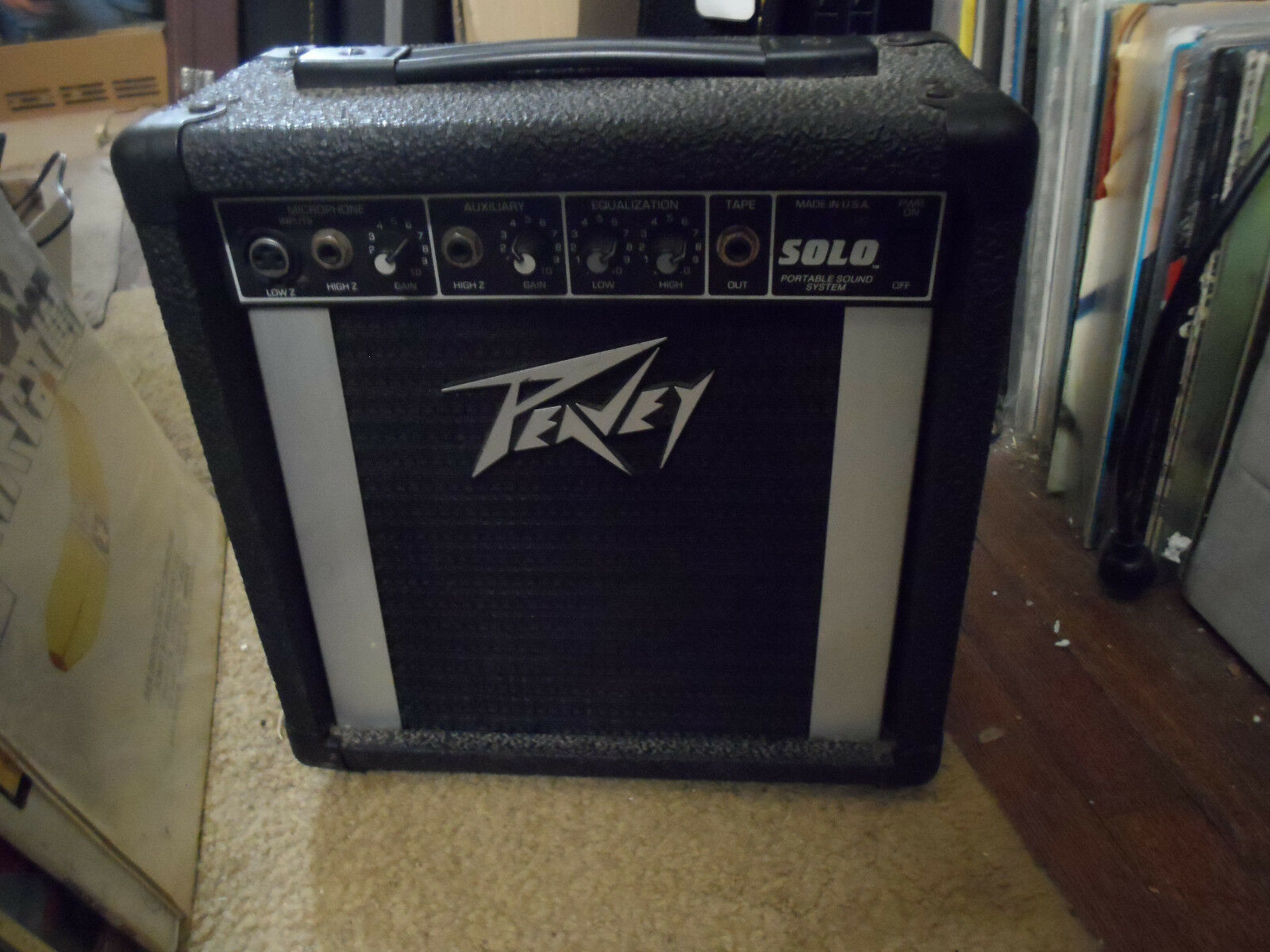 Peavey Solo Portable Amp   PA System