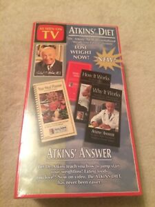 Atkins' Diet- Atkins' Answer Twin Pack (VHS) - Deutschland - Atkins' Diet- Atkins' Answer Twin Pack (VHS) - Deutschland