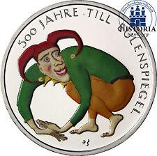 Deutschland 10 Euro 2011 bfr. 500 Jahre Till Eulenspiegel Historien in Farbe