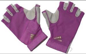Adidas Femmes Climalite Entraînement Gym Fitness Gants Climacool Taille L-afficher Le Titre D'origine