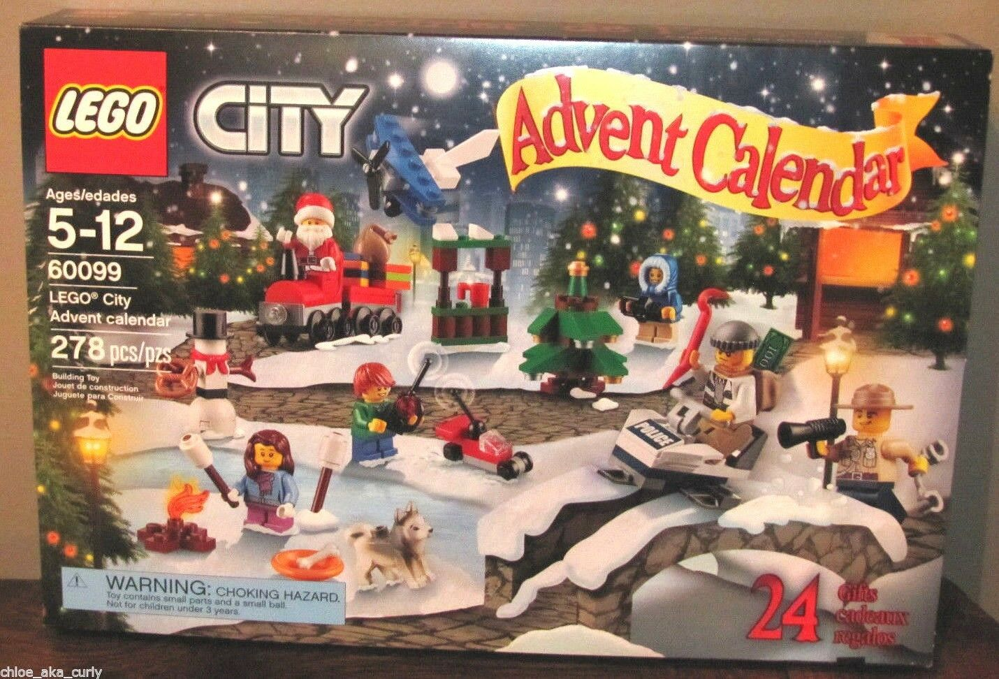 Lego City Christmas Christmas Christmas 2015 Advent Calendar Santa Tree 60099 NEW SHIPS FAST  709d23