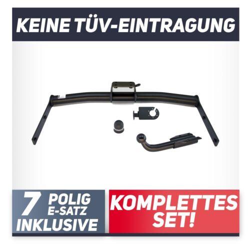 E-Jeu 7p Pour Skoda Fabia I 4-tür BERLINE 01-07 attelage rigide