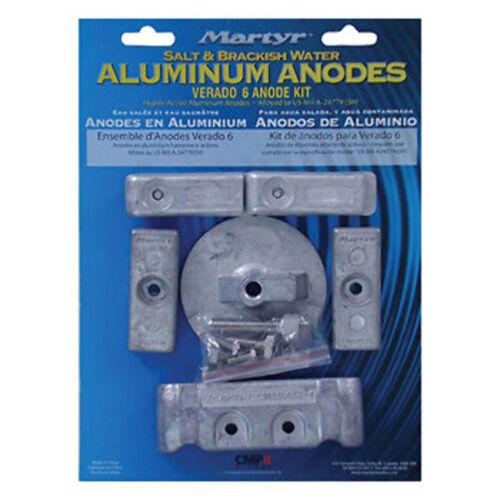 NIB Mercury 135-150-175-200 HP Anode Kit Aluminum Salt Water VER6