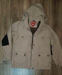buy best best selling hot new products Details about WELLENSTEYN Model Cairo Men's Original Jacket Coat Parka  Beige Hoodie Size M