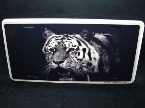 Tiger Metal Neuheit Kennzeichen für Autos Augen Des