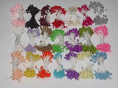 Bundle of 80-90 Flower Stamens, Used in Millinery,Flower making,Cake Decoration