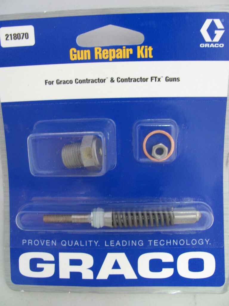 Graco Airless Paint Spray Gun Repair Kit 218070 Graco Contractor Gun Repair Kit