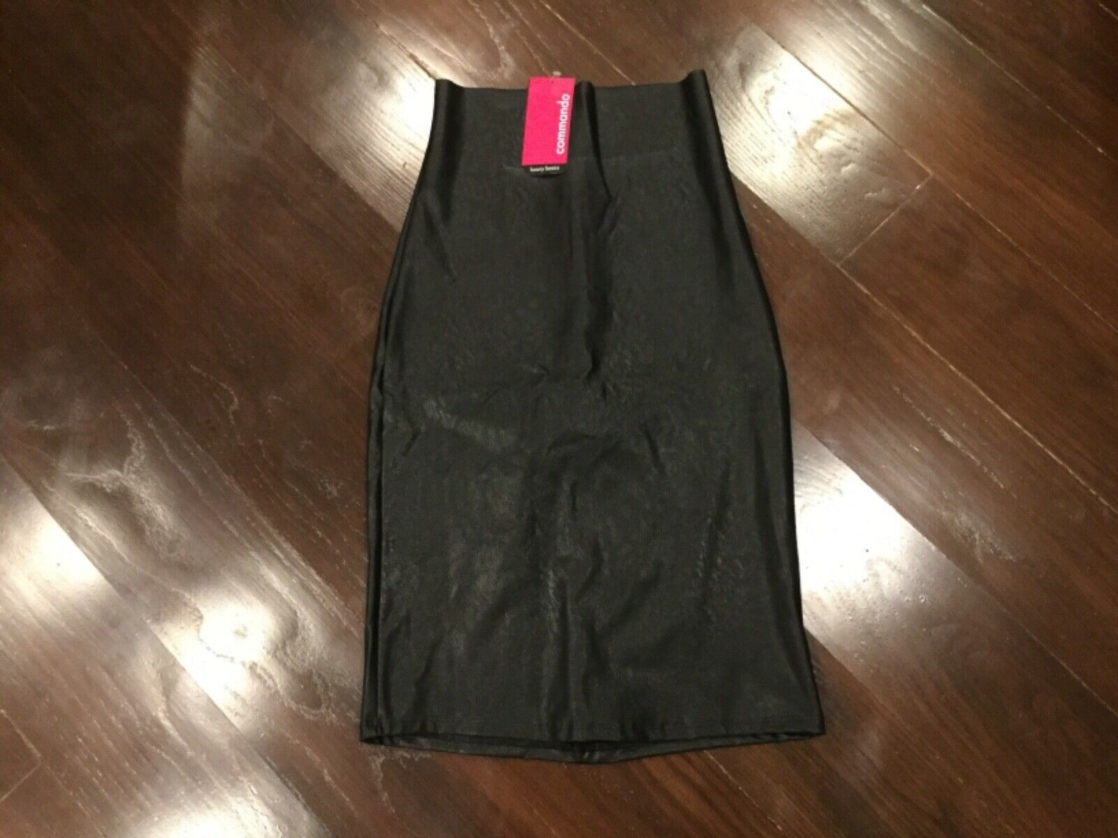 NWT Commando Faux Leather Perfect Pencil Skirt Shapewear, - Women's size  S