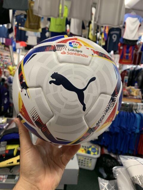 madre ironía Accesorios  PUMA Accelerate La Liga 1 White Multicolor Soccer Top Training Ball Size 5  for sale online | eBay